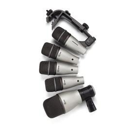 Kit Microfone para Bateria C/ 05 Samson