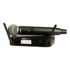 ME-27566 MICROFONE SEM FIO GLXD24BR/SM58-Z2 Shure