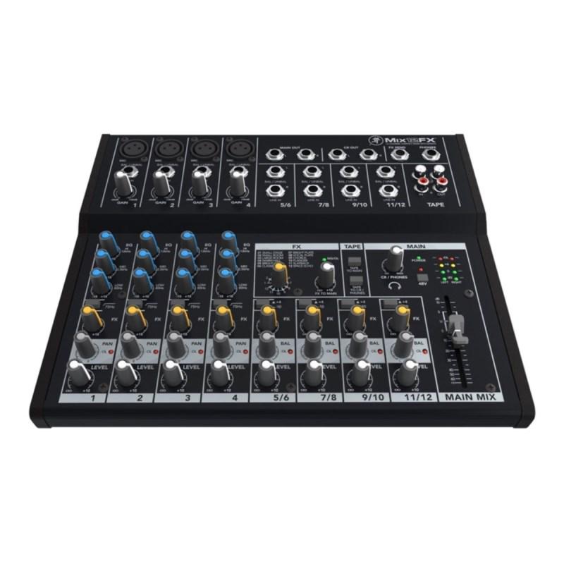 Mesa de Som Mixer 12 Canais Mix12 FX Mackie