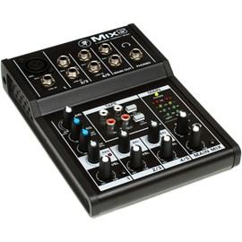 Mesa de Som Mixer 5 Canais Mix5 Mackie