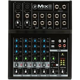 Mesa de Som Mixer 8 Canais Mix8