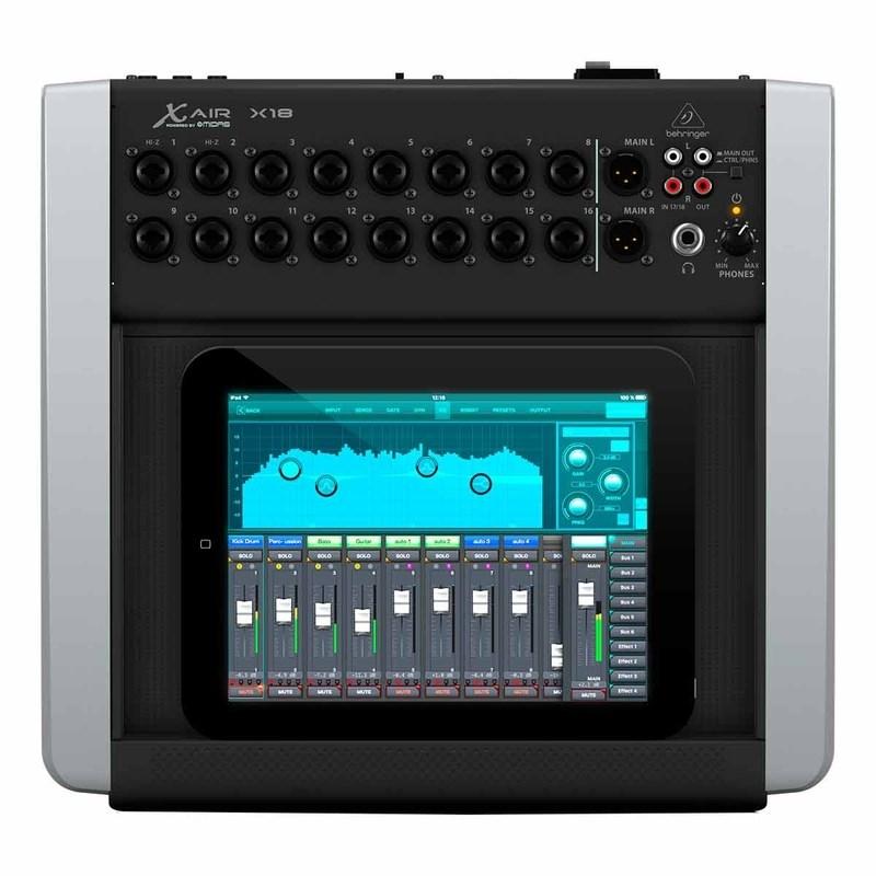 Mesa de Som Mixer Digital 18 Canais X18 Behringer