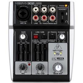 Mesa de Som Mixer Xenix 302 USB Behringer