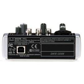 Mesa de Som Mixer Xenyx 302 USB Behringer