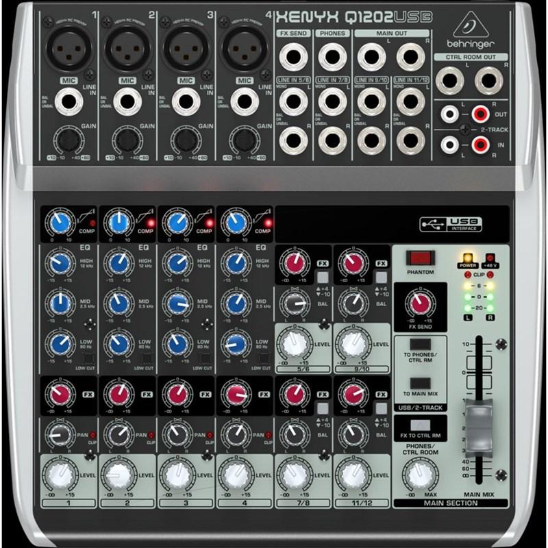 Mesa de Som Mixer Xenyx Q1202 USB 006071 Behringer