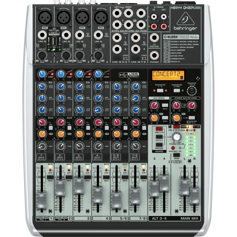 Mesa de Som Mixer Xenyx Qx1204usb Behringer