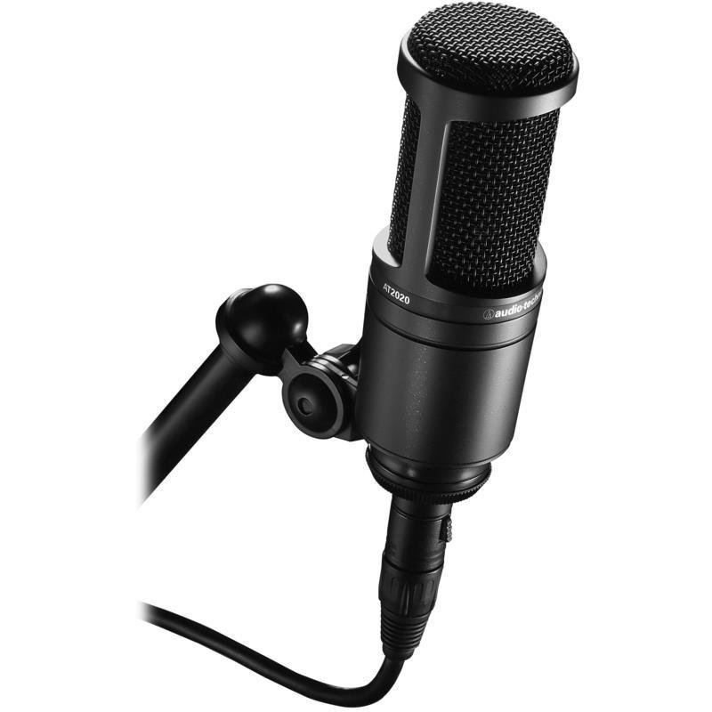 Microfone At-2020 Cardióide Condensador Audio Technica