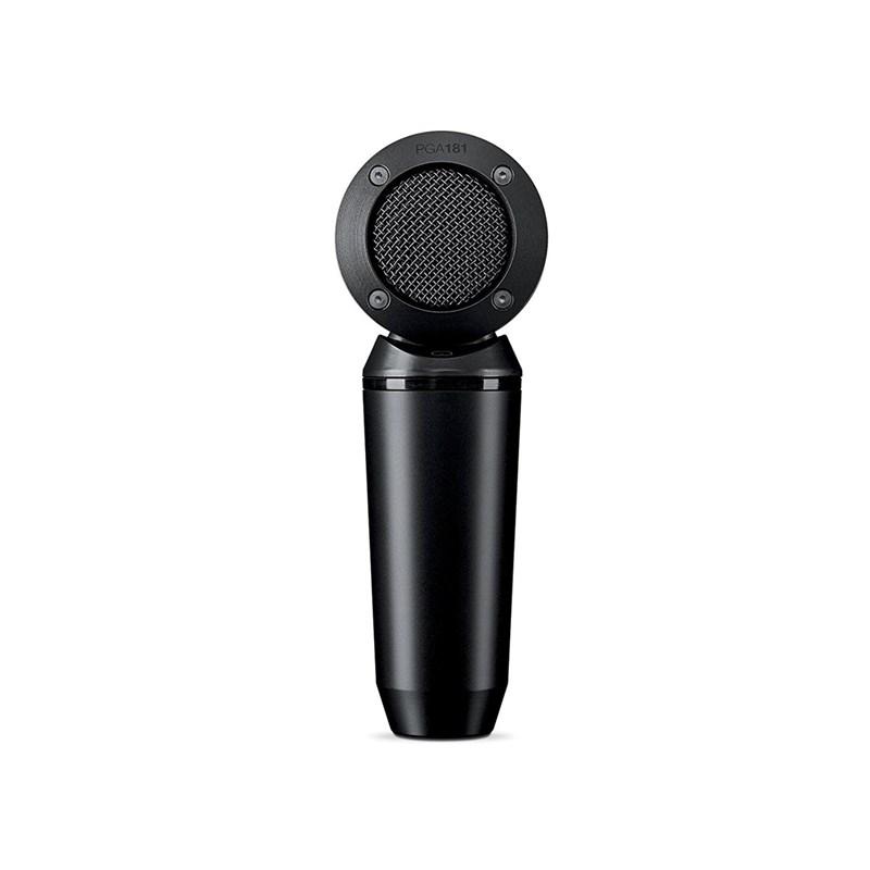 Microfone Condensador Cardióide Captação Lateral  Pga181-lc Shure