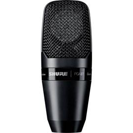 Microfone Condensador Cardióide Diafragma Largo Pga27-lc Shure
