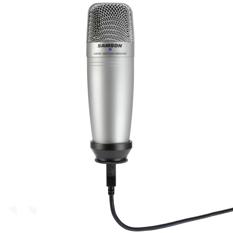 Microfone Condensador Cardióide Usb Co1u Samson