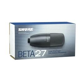 Microfone Condenser Supercardioide de Captação Lateral Beta 27 Shure