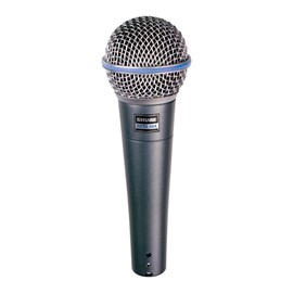Microfone Dinâmico Beta 58A Shure
