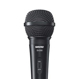 Microfone Dinâmico Cardióide para Vocal SV200 Shure
