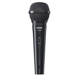 Microfone Dinâmico Cardióide para Voz Sv200-w