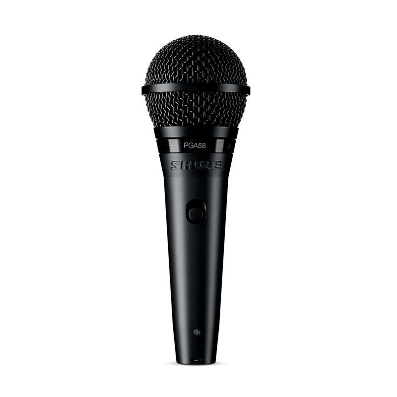 Microfone Dinâmico Cardioide PGA 58 LC Shure