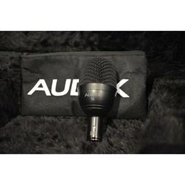Microfone Dinâmico F6 com Clip e Capa Audix