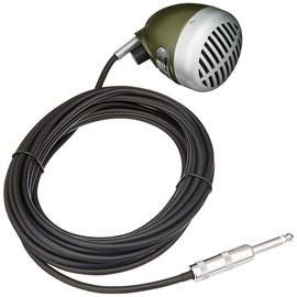 Microfone Dinâmico Omnidirecional para Gaita 520 dx Shure