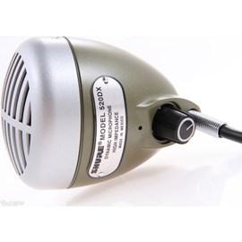 Microfone Dinâmico Omnidirecional para Gaita 520dx Shure