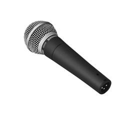 Microfone Dinâmico SM 58 LC (Com Cachimbo) Shure