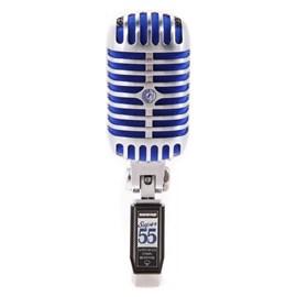 Microfone Dinâmico Supercardioide Design Vintage Super 55 Shure