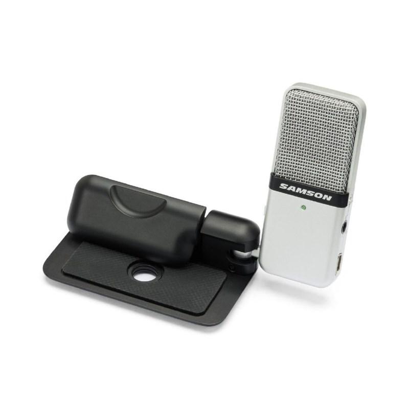 Microfone Mini Condensador Portátil Go Mic Samson