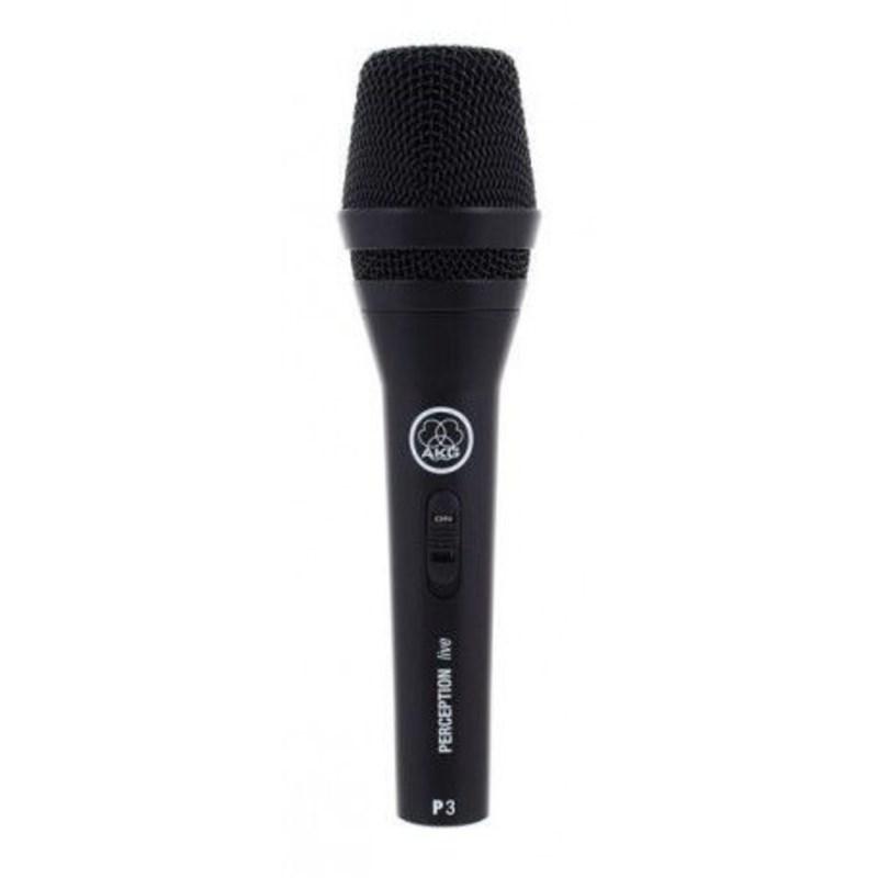Microfone Perception 3s Dinâmico para Vocal Akg
