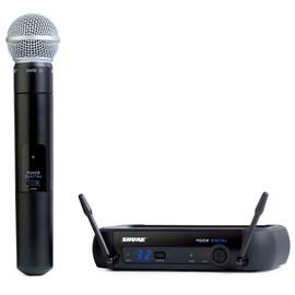 Microfone S/ Fio Pgxd24/sm58 (Bastão) (new) Shure