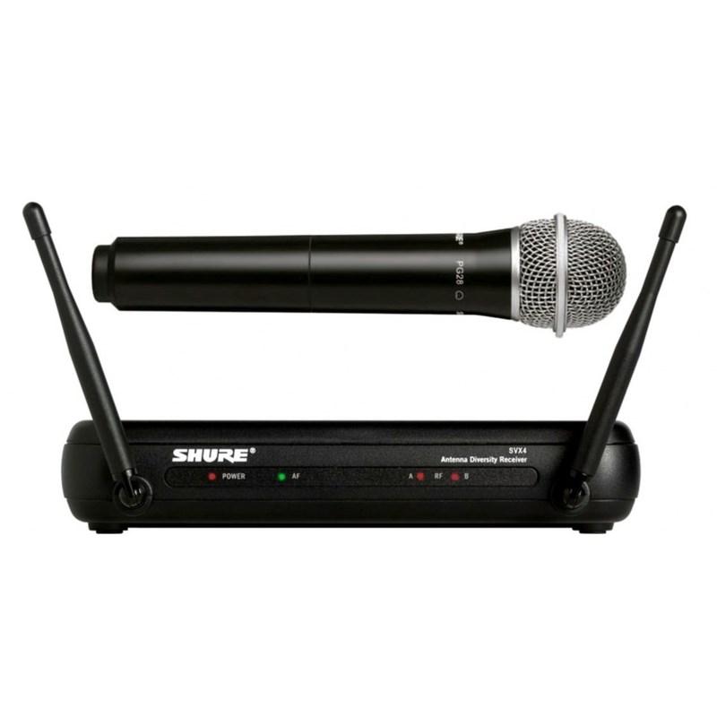 Microfone S/ Fio Svx-24br/pg-28 (Bastão) Shure