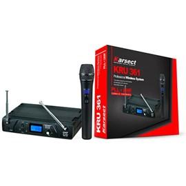 Microfone Sem Fio Bastao Digital Uhf Kru361 Karsect