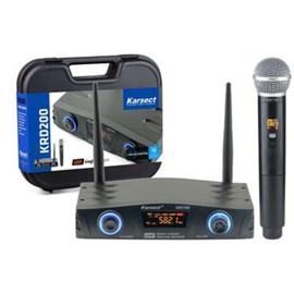 Microfone sem Fio MAO UHF KRD200SM Karsect