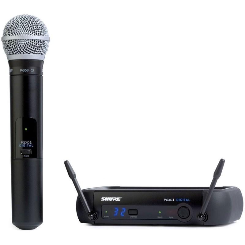 Microfone Sem  Fio Pgxd24/pg58 (Bastão) Shure