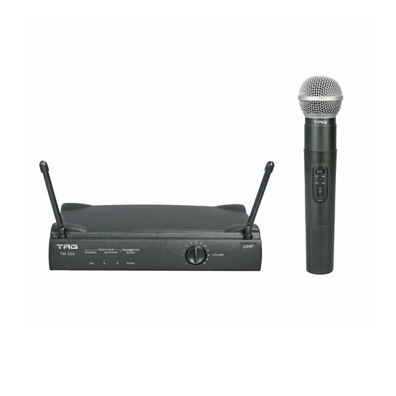 Microfone Sem Fio Tm 559 (Bastão) Tagima