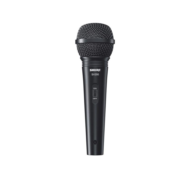 Microfone Sv 200 - Dinâmico Cardióide para Vocal Shure