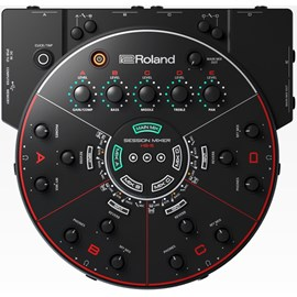 Mixer HS5 para Ensaio e Gravação de Bandas Roland