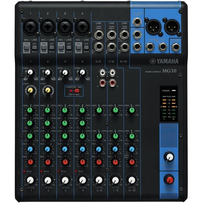 Mixer Mg-10 Yamaha
