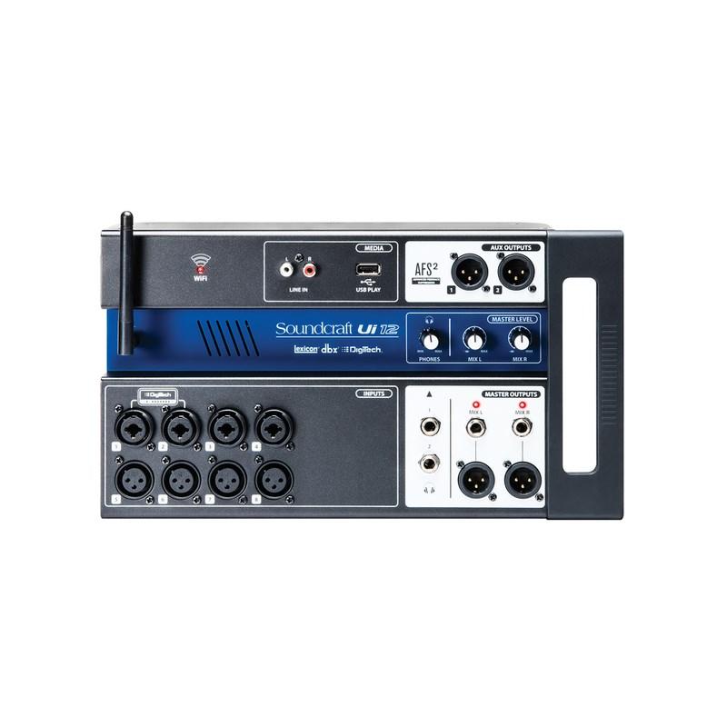 Mixer Soundcraft Digital Ui12 Soundcraft