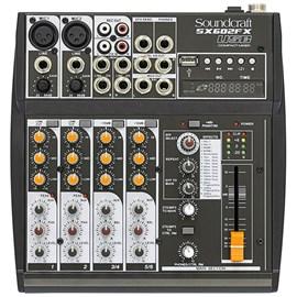 Mixer SX602 FX USB Soundcraft