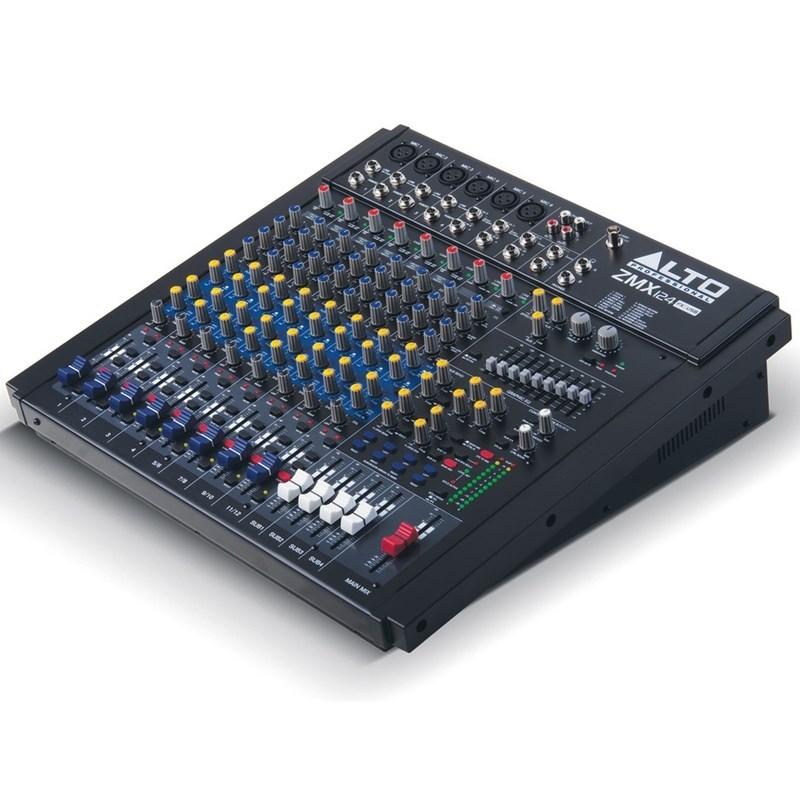 Mixer Zmx124-fx Usb Alto