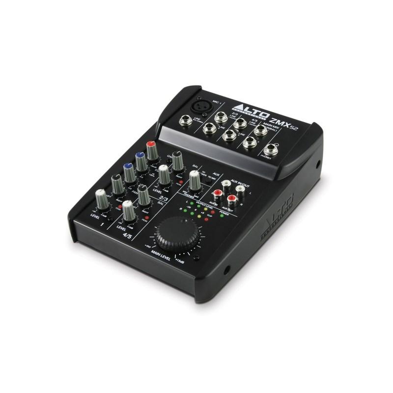 Mixer Zmx52 C/5 Canais Alto