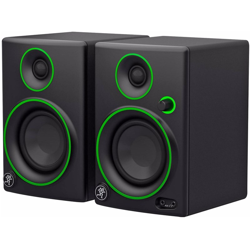 "Monitor Multimidia CR-3 - 50w, Woofer 3"" (Par) Mackie"