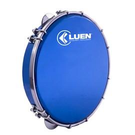 "Pandeiro 10"" Fórmica Azul Holográfica Azul Luen"