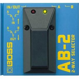 Pedal AB 2 A/B Box Seletor de Canais Boss