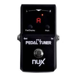 Pedal Afinador para Guitarra e Baixo PT6 NFA 3042 NUX