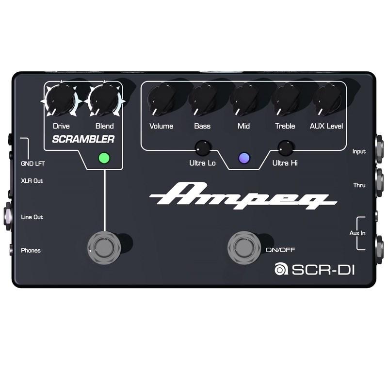 Pedal Ampeg Pre-amp / Distorção Scr-di Ampeg