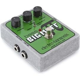 Pedal Bass Big Muff Pi Distortion Sustainer para Contrabaixo Electro-harmonix
