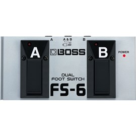 Pedal Controlador Dual Footswitch FS-6 Boss