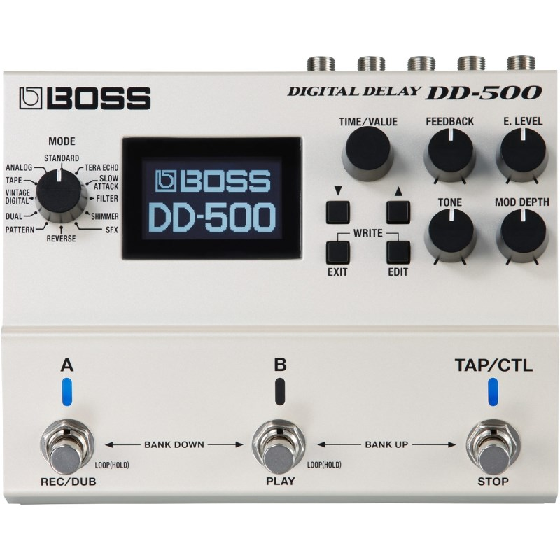 Pedal DD 500 Digital Delay Boss