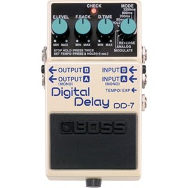 Pedal DD 7 Digital Delay Boss