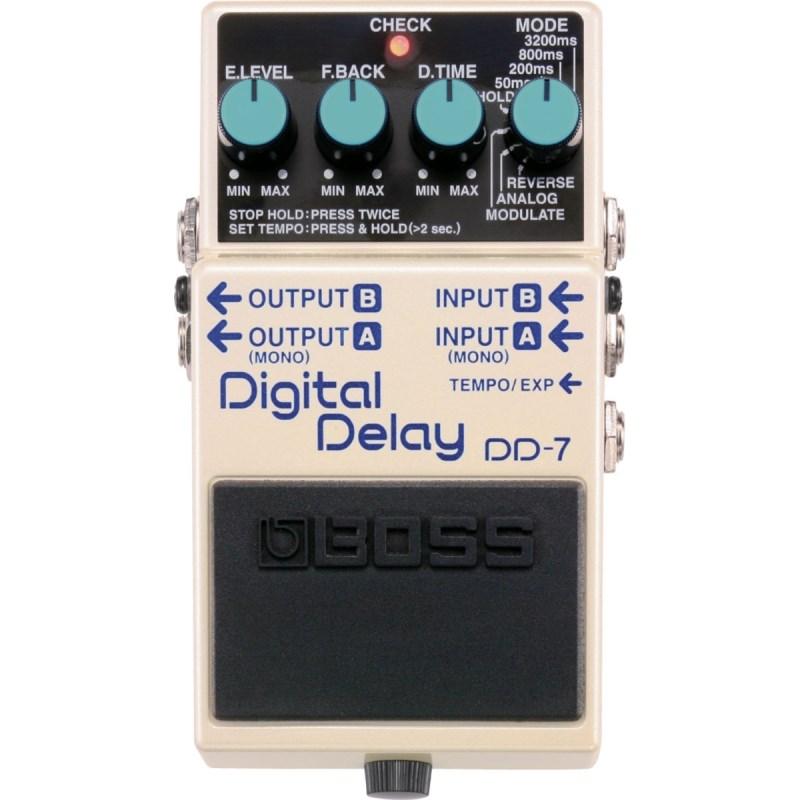 Pedal DD 7 Digital Delay Boss