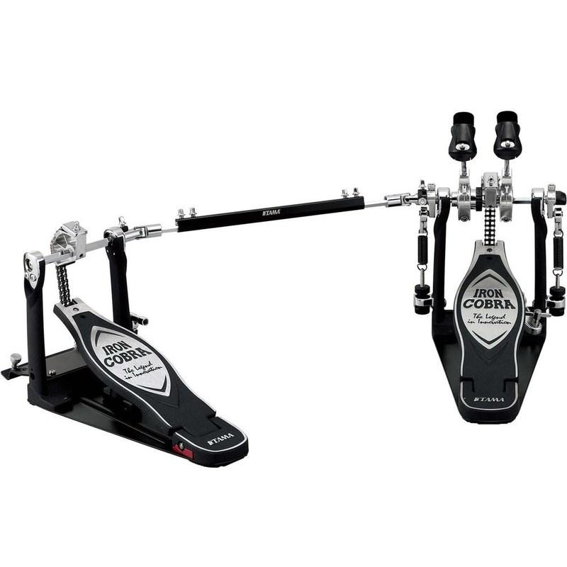 Pedal de Bumbo Duplo Iron Cobra Hp900pwn Tama